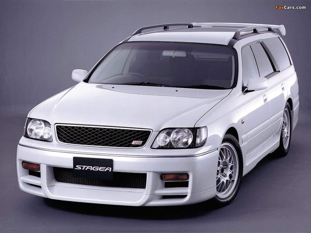 Images of Nissan Stagea Autech Version (E-WGNC34) 1997–2001 (1024 x 768)
