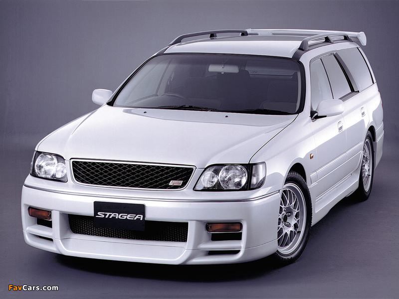 Images of Nissan Stagea Autech Version (E-WGNC34) 1997–2001 (800 x 600)
