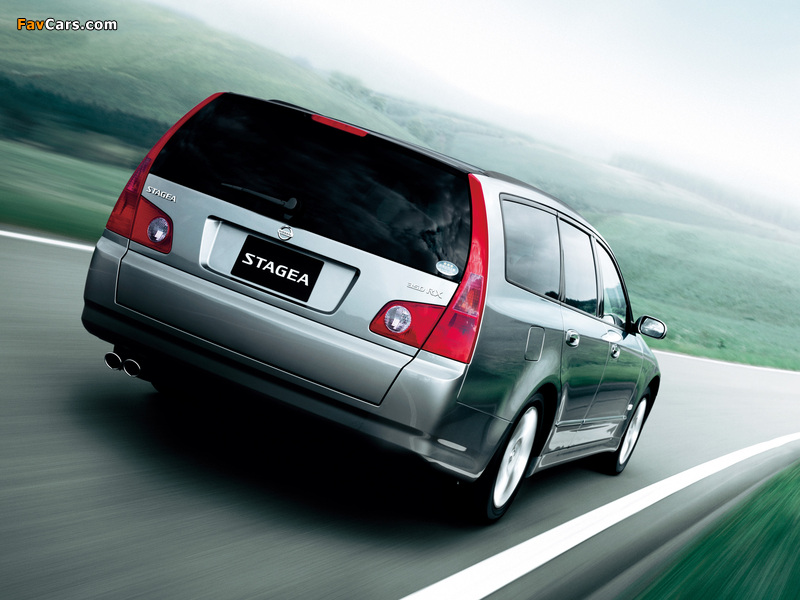 Images of Nissan Stagea (M35) 2001–07 (800 x 600)