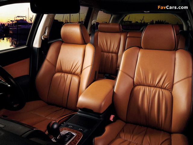 Images of Nissan Stagea (M35) 2001–07 (640 x 480)