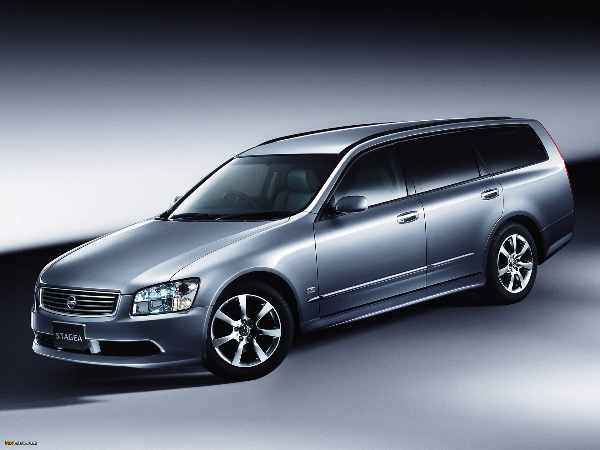 Images of Nissan Stagea (M35) 2001–07 (1920 x 1440)