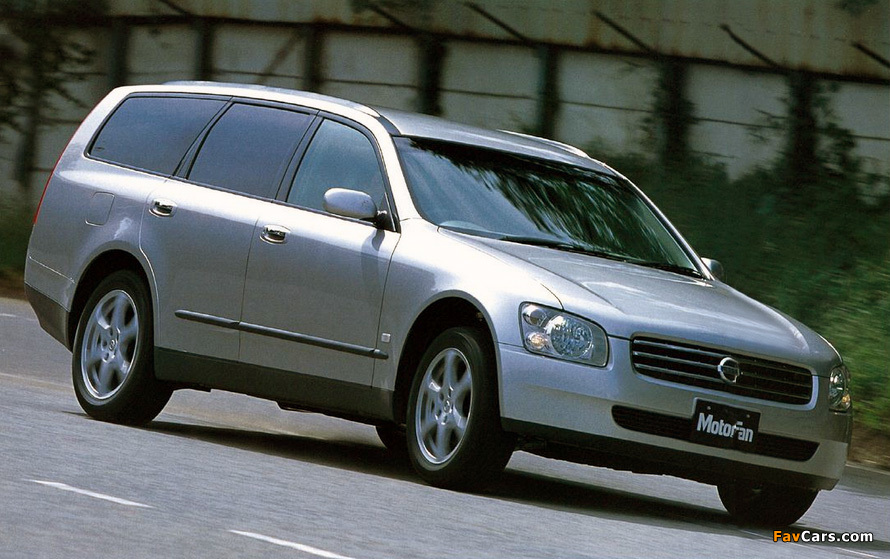 Nissan Stagea (M35) 2001–07 wallpapers (890 x 559)