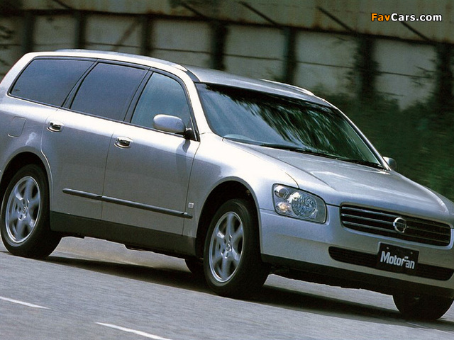 Nissan Stagea (M35) 2001–07 wallpapers (640 x 480)