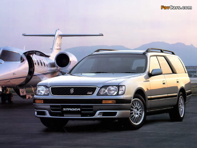 Pictures of Nissan Stagea (C34) 1996–2001 (640 x 480)