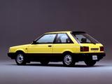Nissan Sunny Hatchback (B12) 1985–87 photos