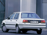Nissan Sunny Sedan (N13) 1986–90 pictures