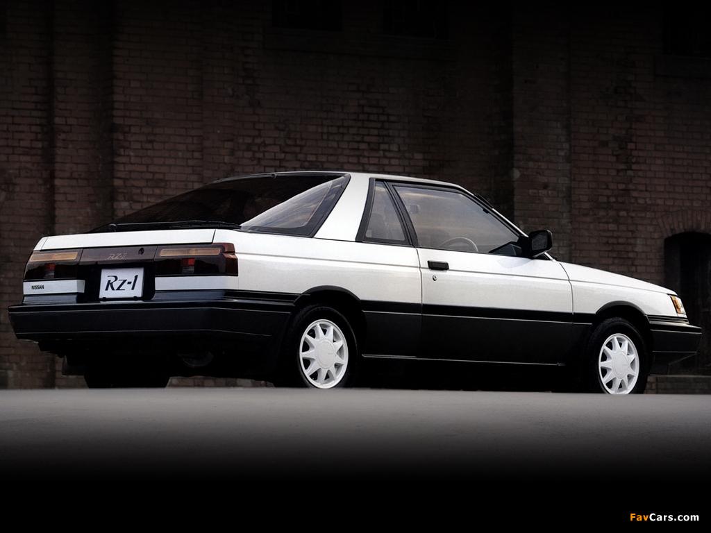 Nissan Sunny Rz 1 Eb12 Fb12 1987 89 Photos 1024x768