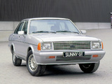 Pictures of Datsun Sunny GT (B310) 1979–81