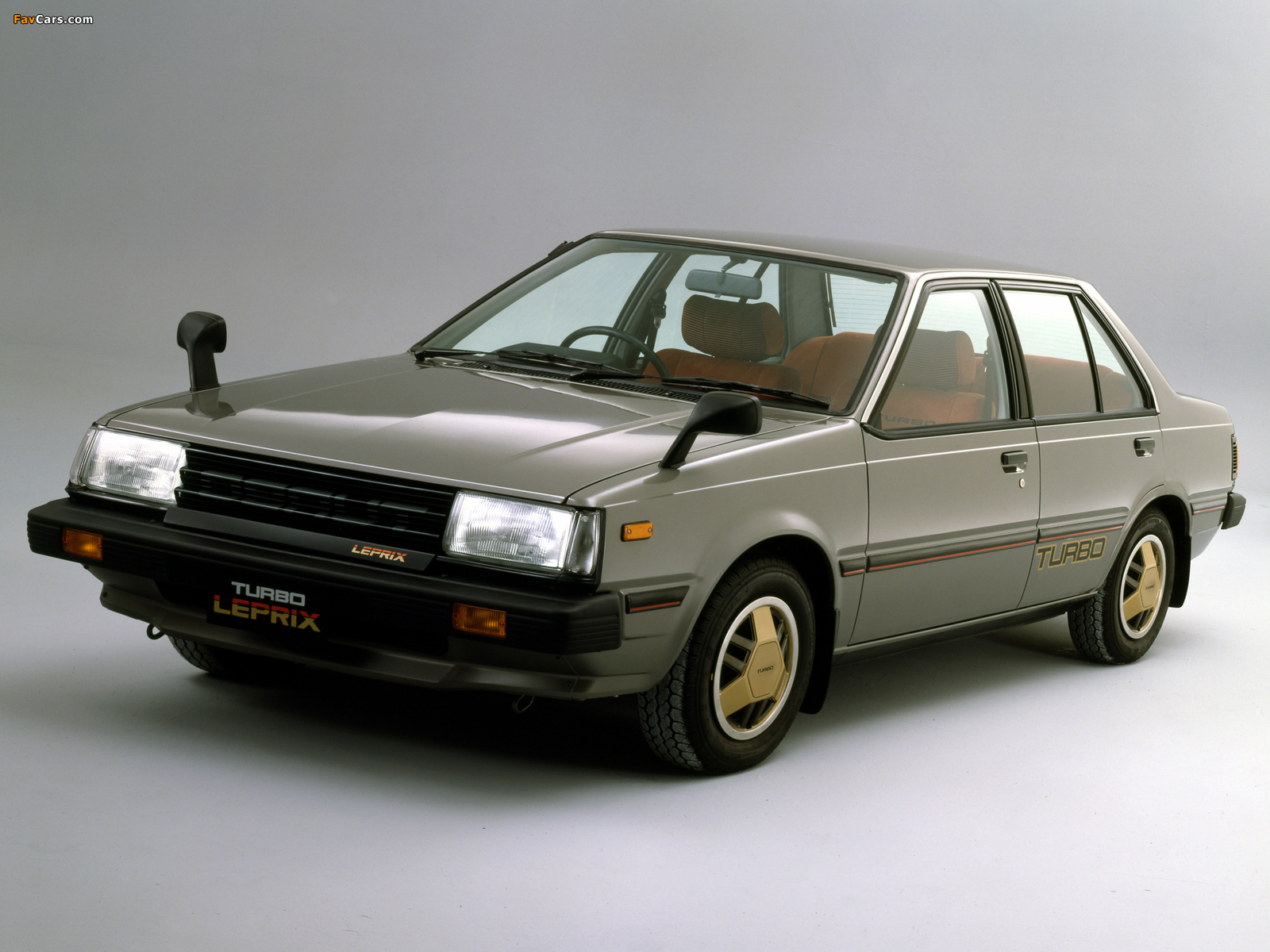 Pictures Of Nissan Sunny Turbo Leprix Sedan B11 1982 85