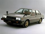 Pictures of Nissan Sunny Turbo Leprix Sedan (B11) 1982–85