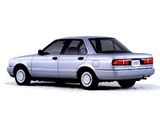 Pictures of Nissan Sunny Sedan (N14) 1990–95