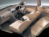 Nissan Sunny (B15) 2002–04 wallpapers