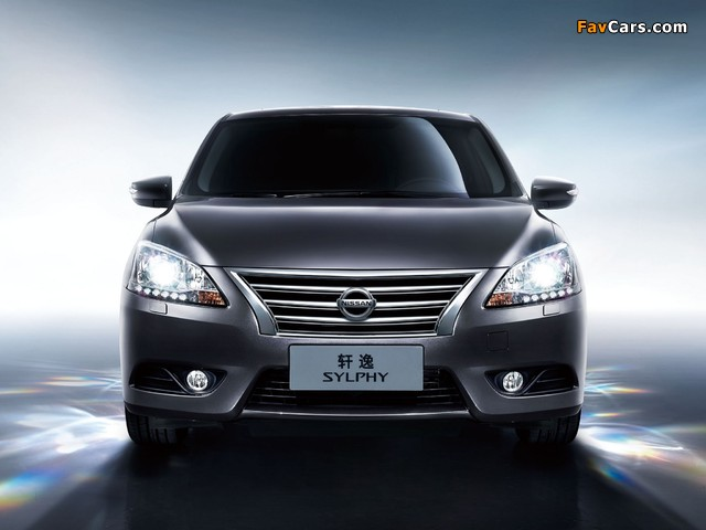 Images of Nissan Sylphy (NB17) 2012 (640 x 480)