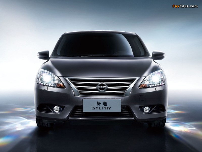 Images of Nissan Sylphy (NB17) 2012 (800 x 600)