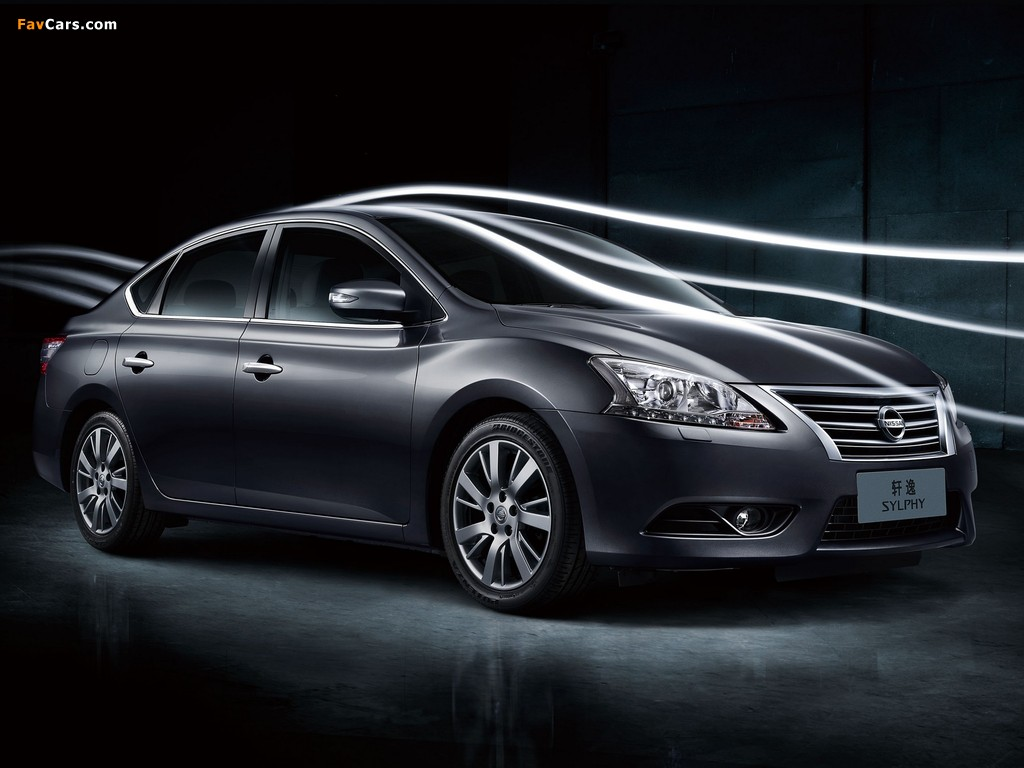 Images of Nissan Sylphy (NB17) 2012 (1024 x 768)