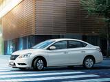 Images of Nissan Sylphy JP-spec (NB17) 2012