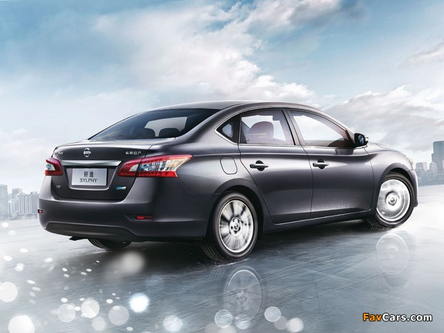 Nissan Sylphy (NB17) 2012 pictures (640 x 480)