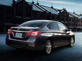 Nissan Sylphy JP-spec (NB17) 2012 wallpapers