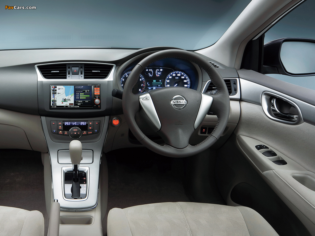 Pictures of Nissan Sylphy JP-spec (NB17) 2012 (1024 x 768)