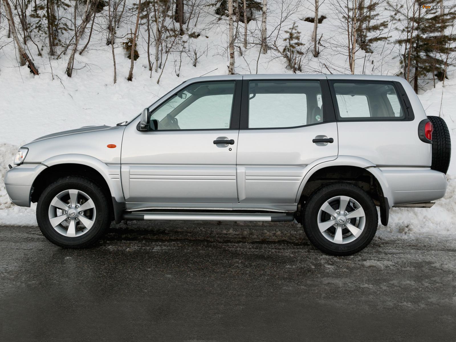 Nissan Terrano II 5-door (R20) 1999–2006 images (1600 x 1200)
