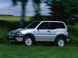 Nissan Terrano II 3-door (R20) 1999–2006 images