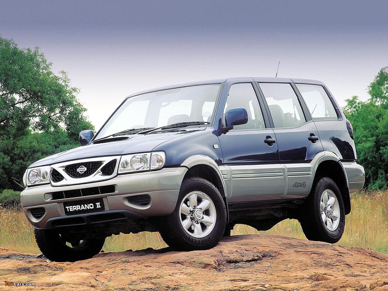 Nissan Terrano II 5-door ZA-spec (R20) 1999–2006 images (1280 x 960)