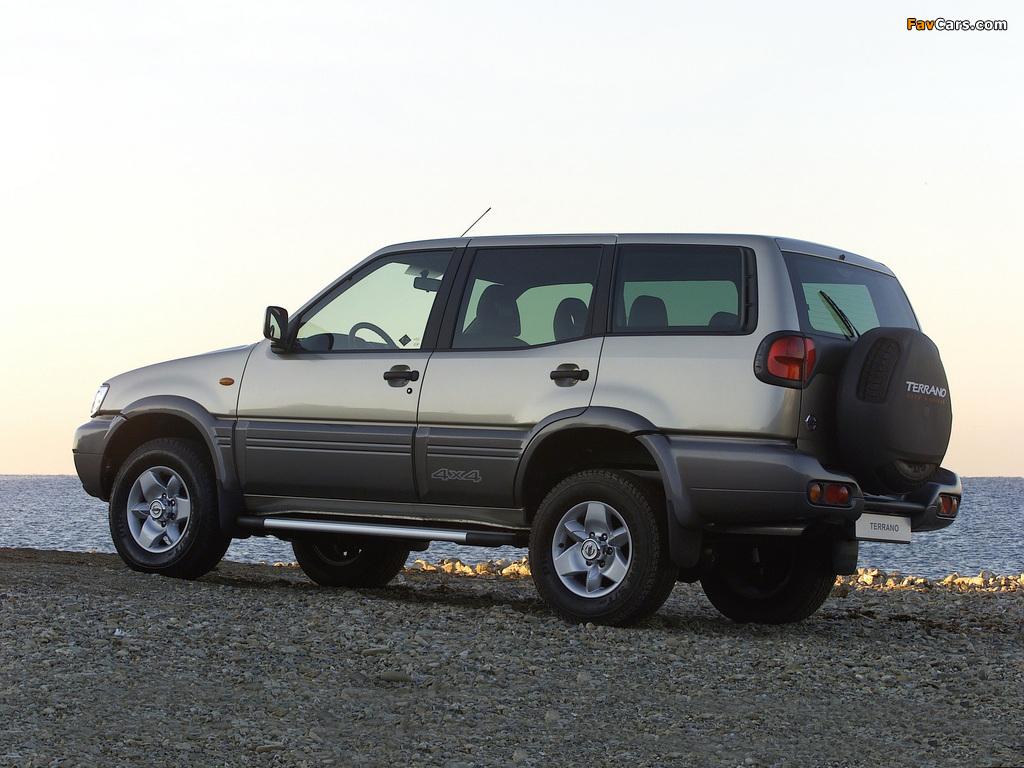 Nissan Terrano II 5-door (R20) 1999–2006 images (1024 x 768)