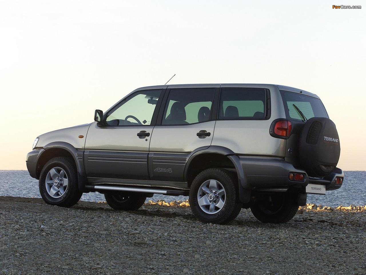 Nissan Terrano II 5-door (R20) 1999–2006 images (1280 x 960)