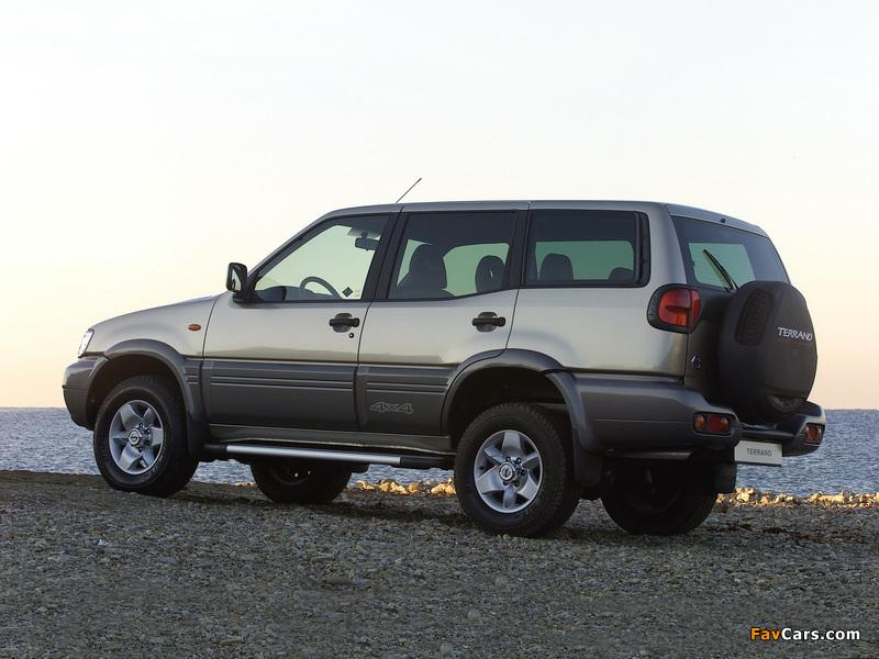 Nissan Terrano II 5-door (R20) 1999–2006 images (800 x 600)