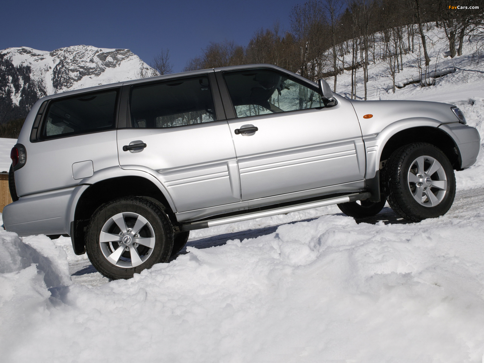 Nissan Terrano II 5-door (R20) 1999–2006 photos (1600 x 1200)