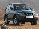 Nissan Terrano II 3-door (R20) 1999–2006 photos