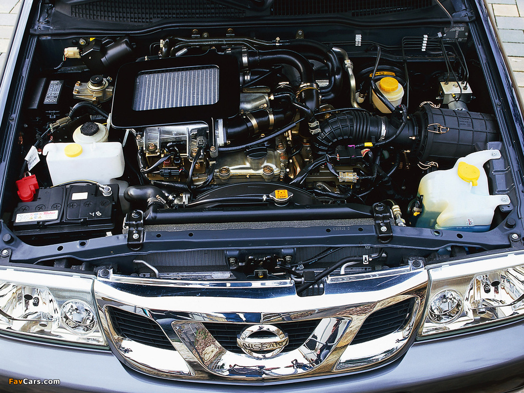 Nissan Terrano II 5-door (R20) 1999–2006 pictures (1024 x 768)