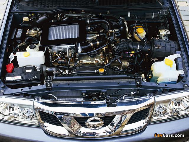 Nissan Terrano II 5-door (R20) 1999–2006 pictures (640 x 480)