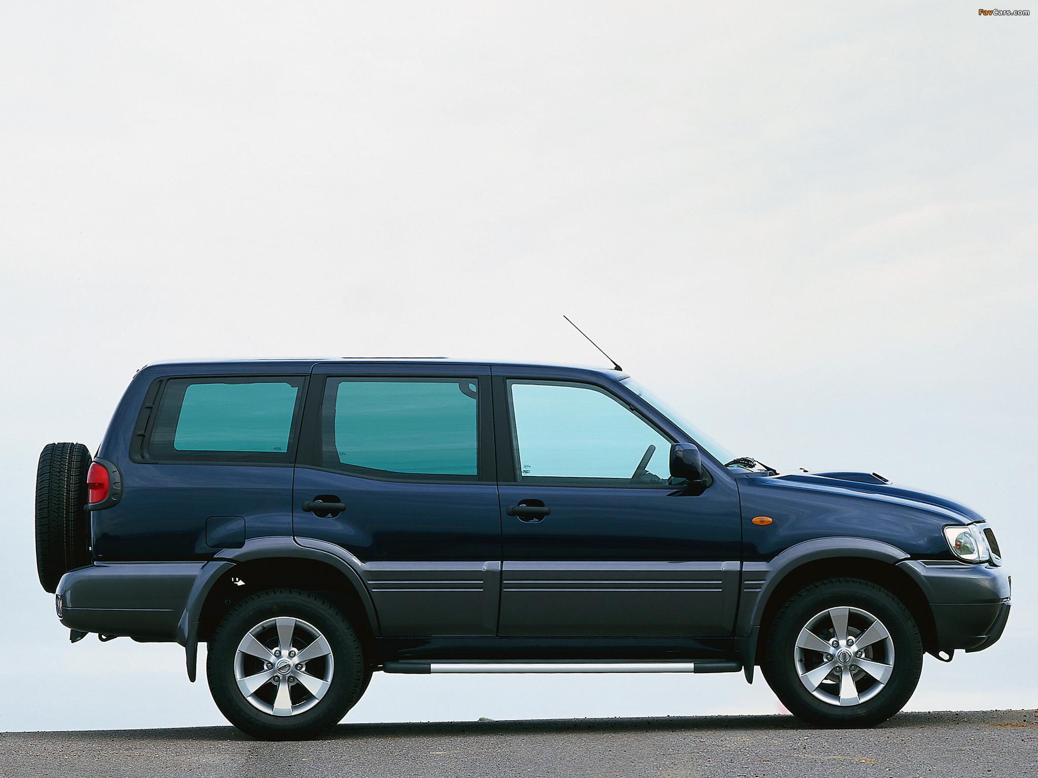 Nissan Terrano II 5-door (R20) 1999–2006 pictures (2048 x 1536)