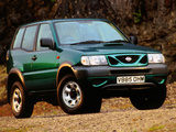 Nissan Terrano II 3-door UK-spec (R20) 1999–2006 wallpapers