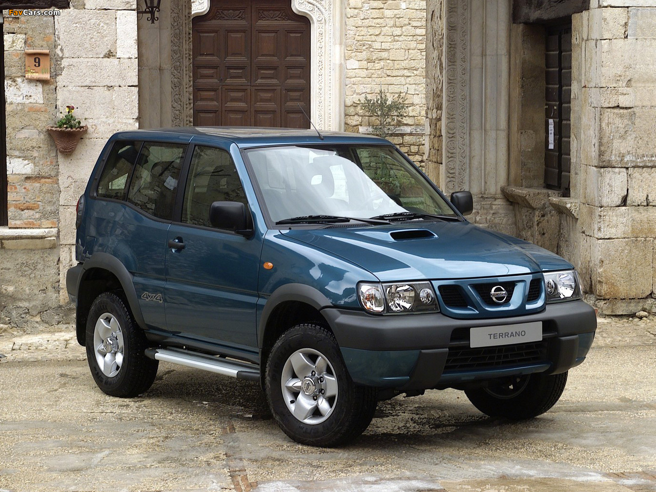 Nissan Terrano II 3-door (R20) 1999–2006 images (1280 x 960)
