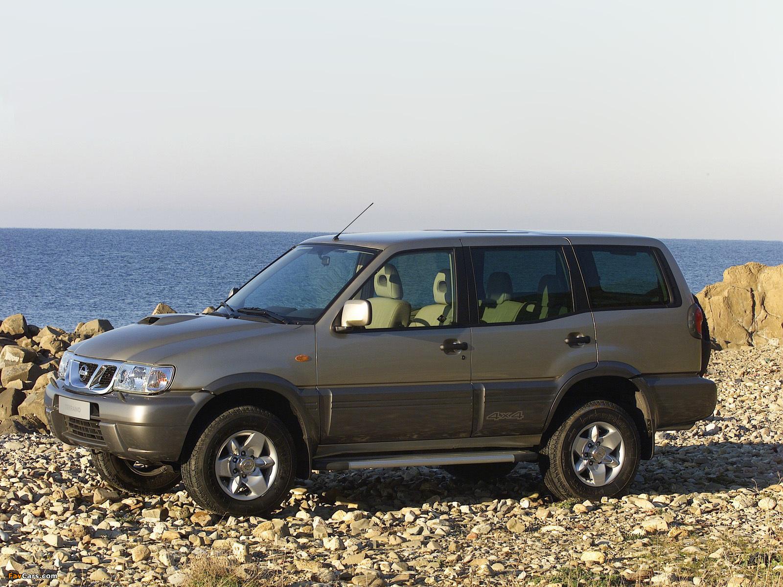 Photos of Nissan Terrano II 5-door (R20) 1999–2006 (1600 x 1200)