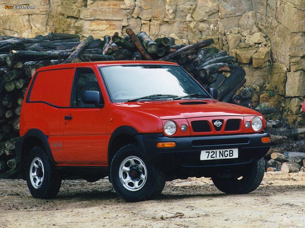 Photos of Nissan Terrano II Van UK-spec (R20) 1996–99 (1024 x 768)