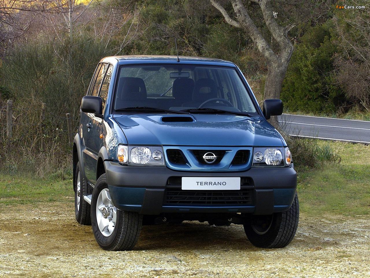 Photos of Nissan Terrano II 3-door (R20) 1999–2006 (1280 x 960)