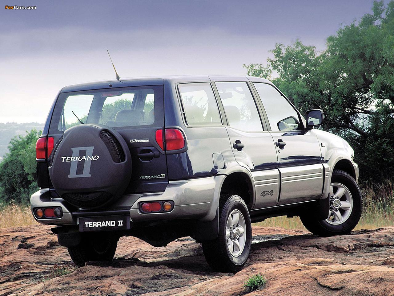 Pictures of Nissan Terrano II 5-door ZA-spec (R20) 1999–2006 (1280 x 960)