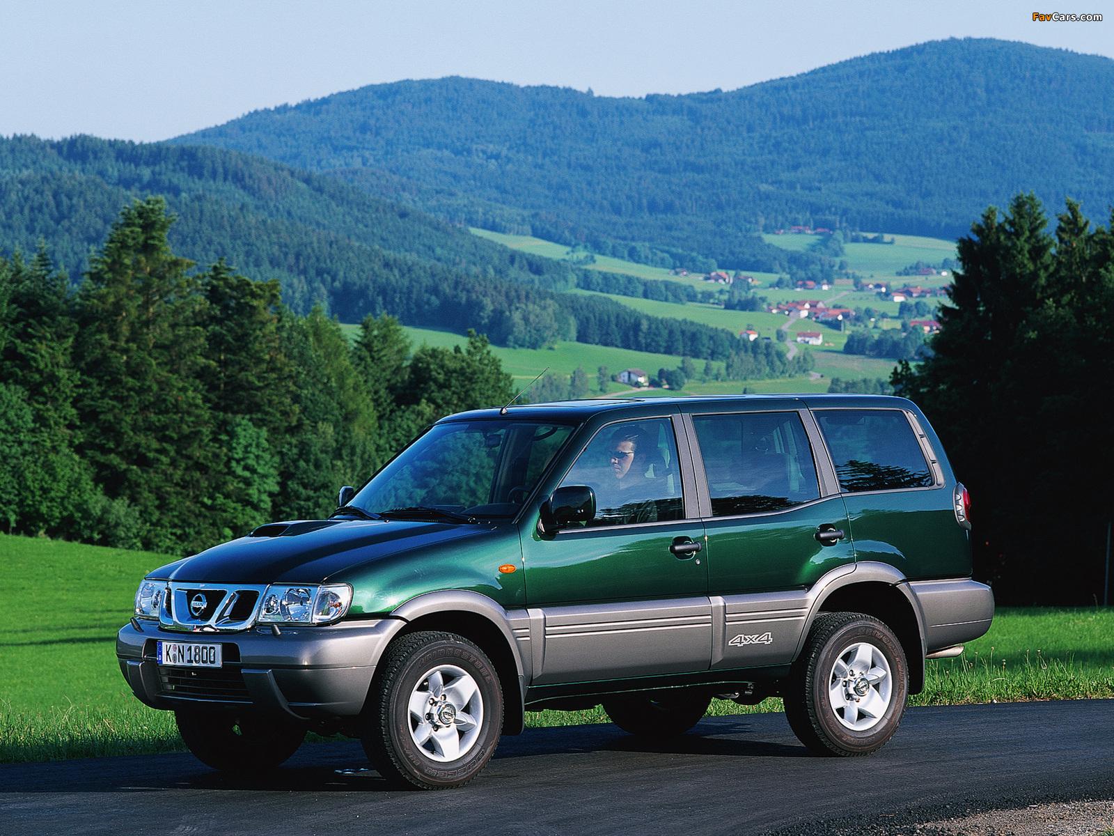 Pictures of Nissan Terrano II 5-door (R20) 1999–2006 (1600 x 1200)