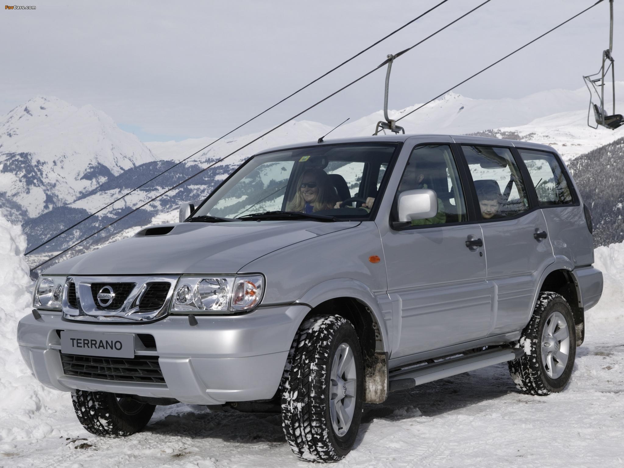 Pictures of Nissan Terrano II 5-door (R20) 1999–2006 (2048 x 1536)