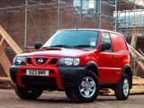 Nissan Terrano II Van UK-spec (R20) 1999–2006 wallpapers