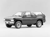 Nissan Terrano 2-door A1M (VBYD21) 1987–89 pictures