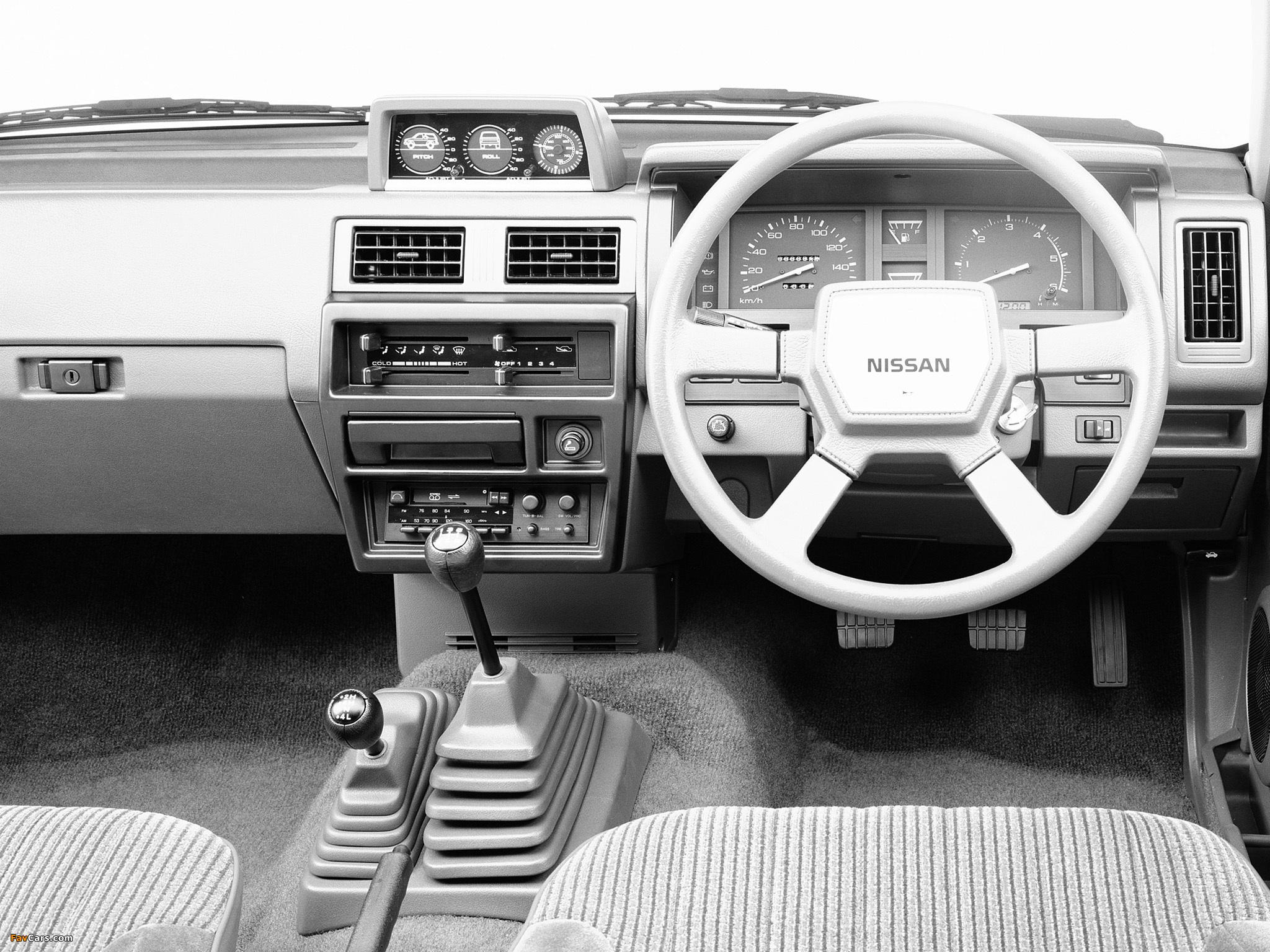 of Nissan Terrano 2 door R3M WBYD21 1987–89