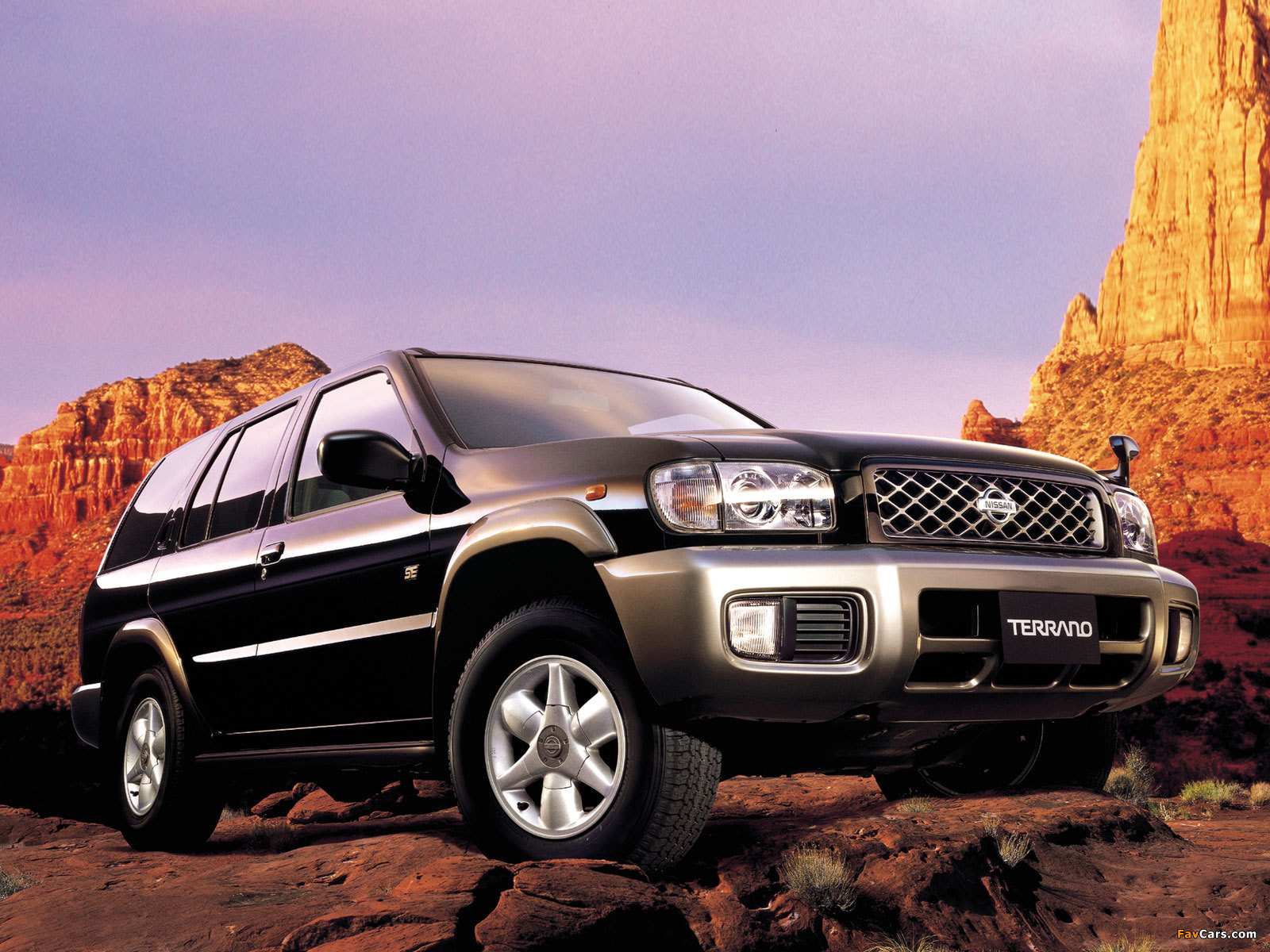 Nissan Terrano 4x4 R3m Se Limited Lr50 Tr50 2001 02 Wallpapers 1600x1200
