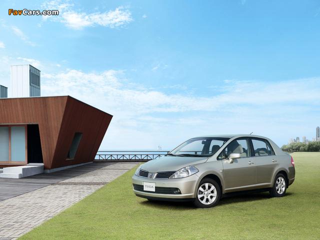 Images of Nissan Tiida Sedan CN-spec (SC11) 2005–08 (640 x 480)