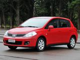 Images of Nissan Tiida Hatchback BR-spec (C11) 2008–10