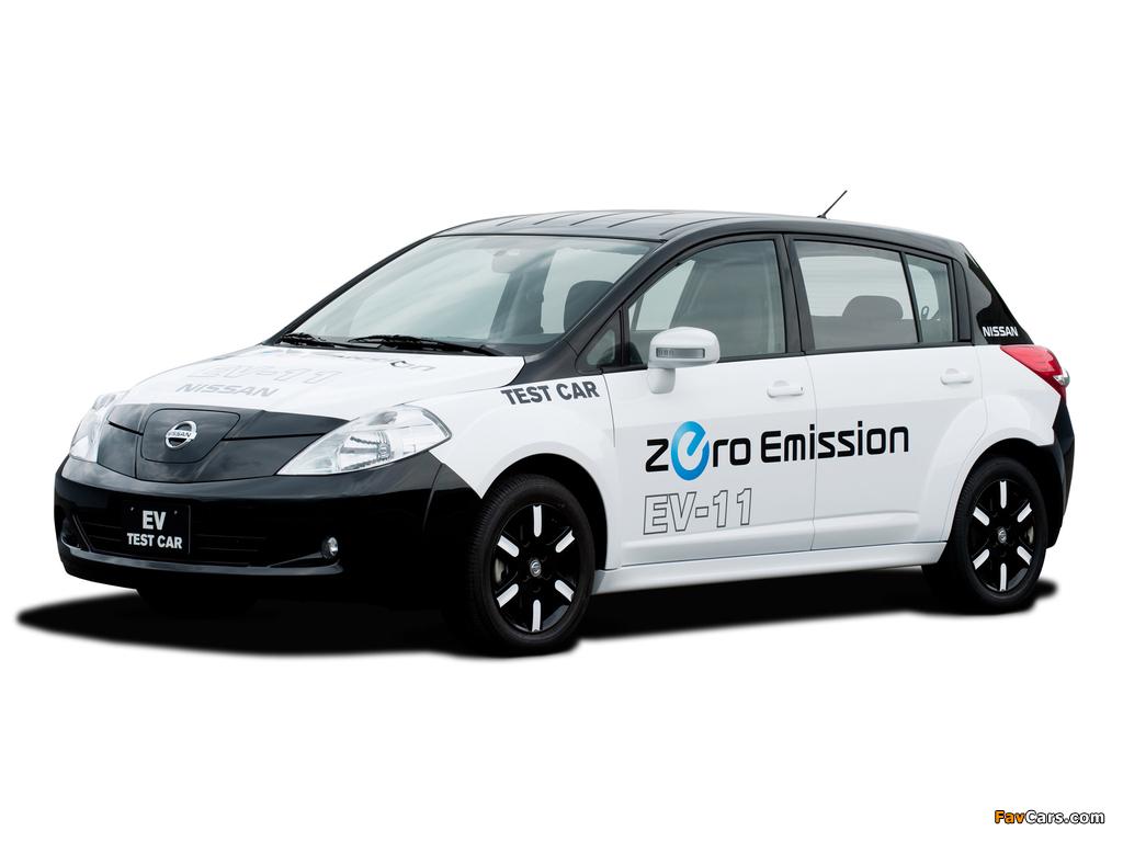 Images of Nissan EV-11 Test Car 2009 (1024 x 768)