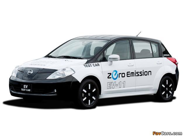 Images of Nissan EV-11 Test Car 2009 (640 x 480)